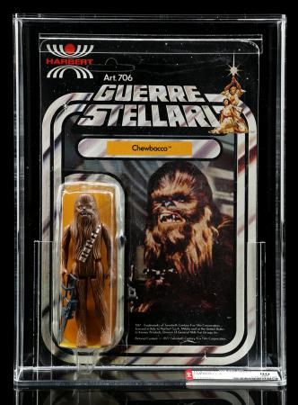 Lot # 65 - Harbert Chewbacca SW12 AFA 80