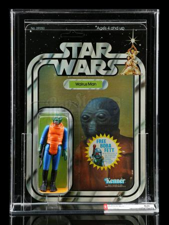 Lot # 192 - Walrus Man (With Orange Greedo Footer) SW20G AFA 85 [Kazanjian Collection]