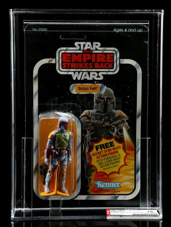 Lot # 203 - Boba Fett ESB21C AFA 75 [Kazanjian Collection]