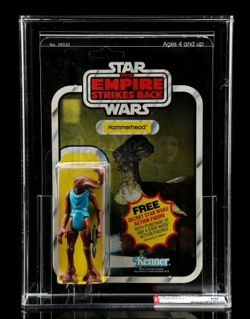 Lot # 205 - Hammerhead ESB21A AFA 80 [Kazanjian Collection]