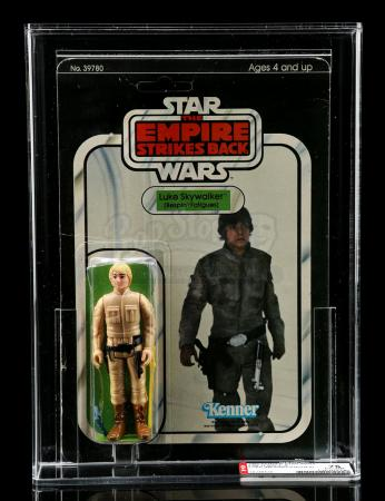 Lot # 207 - Luke Skywalker (Bespin Fatigues) ESB31B AFA 75 [Kazanjian Collection]
