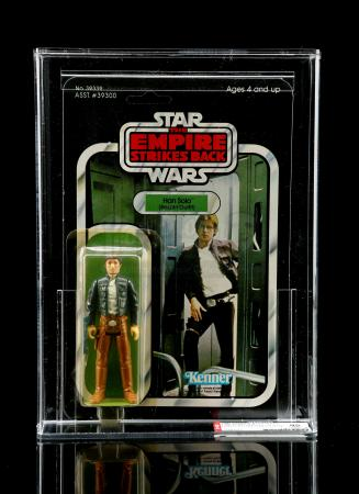 Lot # 211 - Han Solo (Bespin Outfit) ESB41D AFA 85Y [Kazanjian Collection]