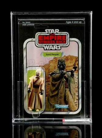 Lot # 216 - Sand People ESB41C AFA 70 [Kazanjian Collection]