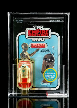 Lot # 219 - Artoo-Detoo (R2-D2) with Sensorscope ESB45A AFA 85Y [Kazanjian Collection]