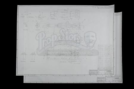 "Lot # 160 - Kenner ""Rocket Bike"" (Speeder Bike) Blueprints"