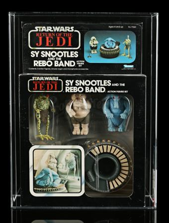 Lot # 259 - Sy Snootles And The Rebo Band ROTJ77 AFA 80