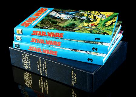Lot # 660 - Star Wars: The Classic Newspaper Comics - Volumes 1-3 (#830/2500)