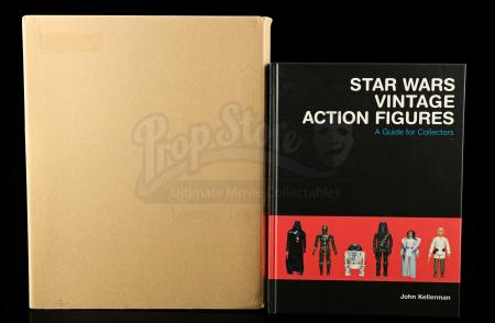 Lot # 664 - Star Wars Vintage Action Figures: A Guide for Collectors By John Kellerman