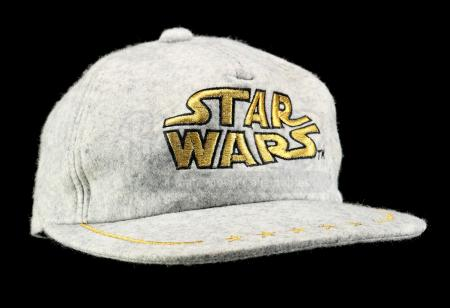 Lot # 747 - Grey Star Wars Hat [Kazanjian Collection]