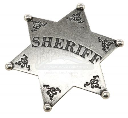 "Lot # 38 - S2E21 - ""Paradigms of Human Memory"": Ghost Town Sherriff's Badge"