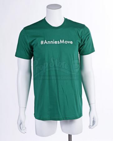 "Lot # 49 - S3E07 - ""Studies in Modern Movement"": Abed Nadir's (as portrayed by Danny Pudi) #AnniesMove Shirt"