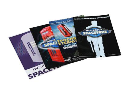 "Lot # 77 - S4E03 - ""Conventions of Space and Time"": Four InspectiCon Convention Fliers"