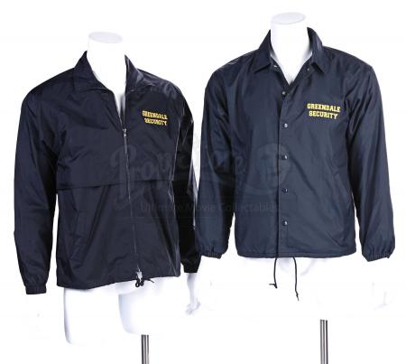 Lot # 119 - Various Episodes: Two Greendale Security Windbreakers