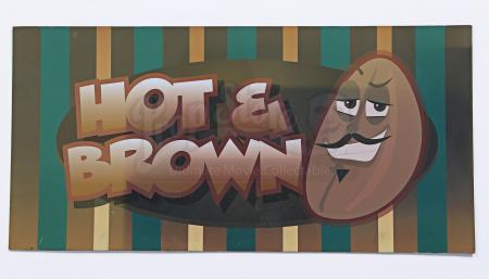 Lot # 128 - Various Episodes: Hot and Brown Coffee Shop Sign