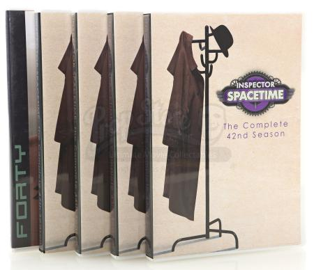 Lot # 131 - Various Episodes: Five Abed Nadir (as portrayed by Danny Pudi) Inspector Spacetime DVD Cases