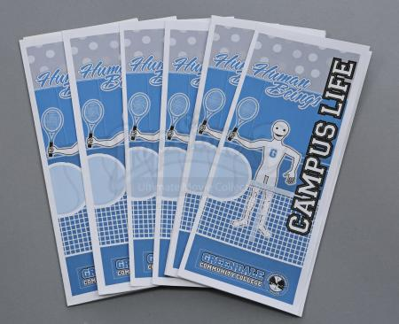 Lot # 163 - Various Episodes: Eight Greendale Tennis Brochures
