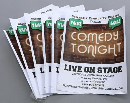"Lot # 178 - S6E06 - ""Basic Email Security"": Six GCC Comedy Show Flyers"