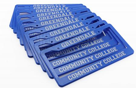 Lot # 180 - Various Episodes: 11 Greendale Community College License Plates