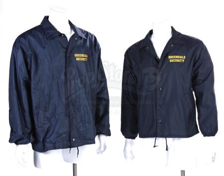Lot # 193 - Various Episodes: Two Greendale Security Windbreakers