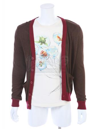 "Lot # 209 - S6E01 - ""Ladders"": Abed's (as portrayed by Danny Pudi) Shirt and Cardigan"