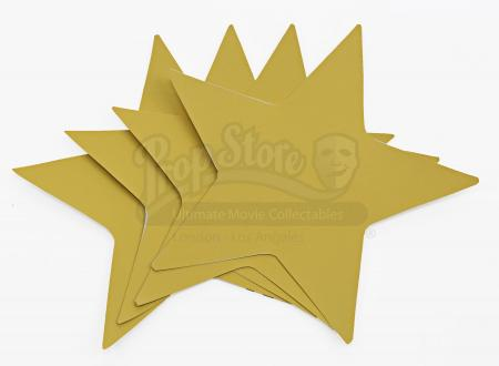 "Lot # 210 - S6E01 - ""Ladders"": Four Spare Yellow Stars"