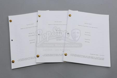 "Lot # 243 - S6E05 - ""Laws of Robotics and Party Rights"": Three ""Britta's (as portrayed by Gillian Jacobs) Party"" Script Extras"