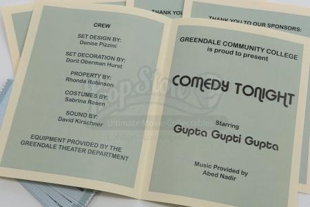 "Lot # 244 - S6E06 - ""Basic Email Security"": Five ""Comedy Night"" Programs and 22 Tickets"