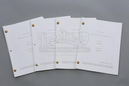 "Lot # 247 - S6E05 - ""Laws of Robotics and Party Rights"": Four ""Britta's (as portrayed by Gillian Jacobs) Party"" Script Extras"
