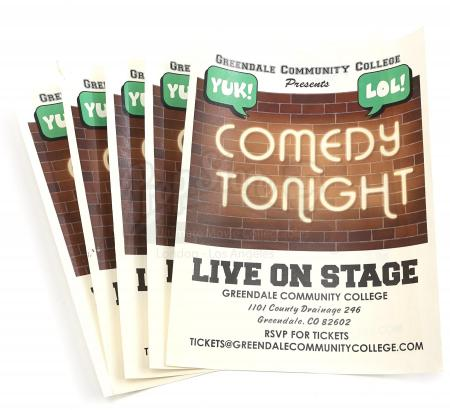 "Lot # 256 - S6E06 - ""Basic Email Security"": Five GCC Comedy Show Flyers"