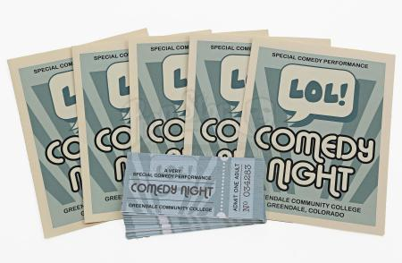 "Lot # 263 - S6E06 - ""Basic Email Security"": Five ""Comedy Night"" Programs and 22 Tickets"