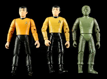 Lot # 551 - Hand-Painted Sulu Hardcopy and Two First Shot Prototypes
