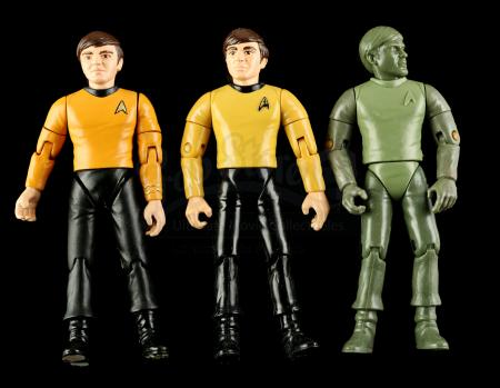 Lot # 552 - Hand-Painted Chekov Hardcopy and Two First Shot Prototypes