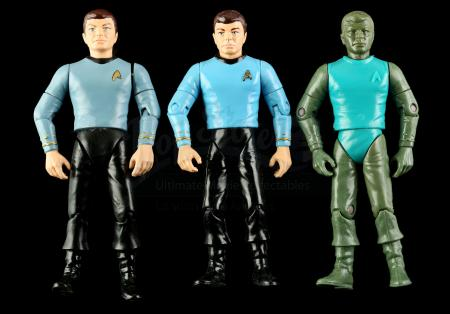 Lot # 553 - Hand-Painted Bones McCoy Hardcopy and Two First Shot Prototypes