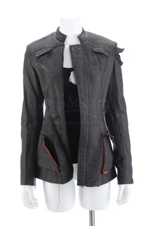 "Lot # 44 - Divergent (2014): Beatrice ""Tris"" Prior's Torn Assault Jacket and Tank Top"