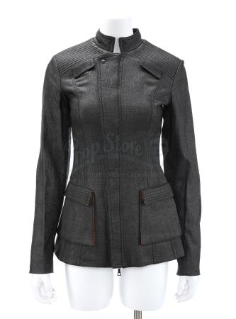 "Lot # 49 - Divergent (2014): Beatrice ""Tris"" Prior's Erudite Trip Jacket and Tank Top"