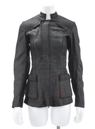 "Lot # 58 - Divergent (2014): Beatrice ""Tris"" Prior's Final Simulation Test Stunt Jacket and Shirt"