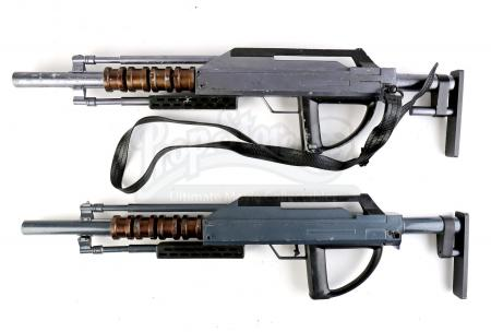 Lot # 84 - Divergent (2014): Two Erudite Mutiny Rifles