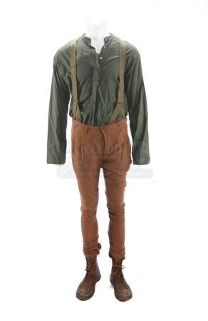 Lot # 86 - The Divergent Series: Insurgent (2015): Caleb's Stunt Amity Refugee Camp Costume