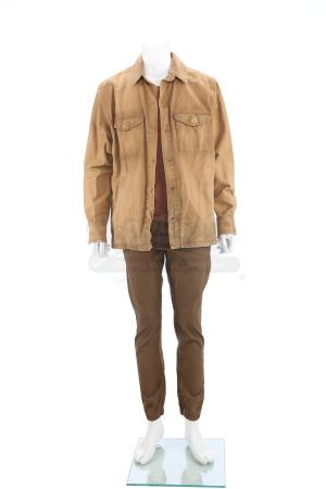 Lot # 102 - The Divergent Series: Insurgent (2015): Peter's Amity Refugee Camp Costume