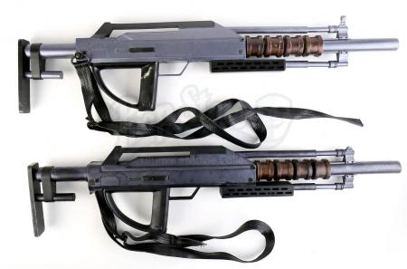 Lot # 128 - Divergent (2014): Two Erudite Mutiny Rifles