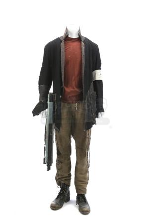Lot # 190 - The Divergent Series: Allegiant (2016): Edgar's Trial Costume With Gun