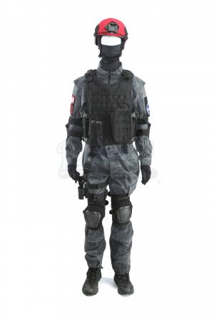 Lot # 3 - S1 Multiple Episodes: Redhat Homeland Security Soldier Uniform