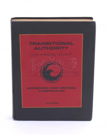 Lot # 38 - S1E03 98 Seconds: Transitional Authority High School Textbook