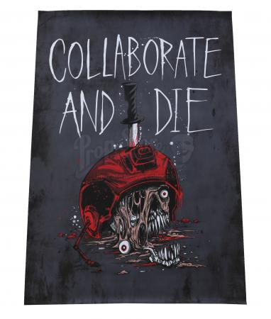 Lot # 88 - S1E05 Geronimo: Collaborate And Die Resistance Poster