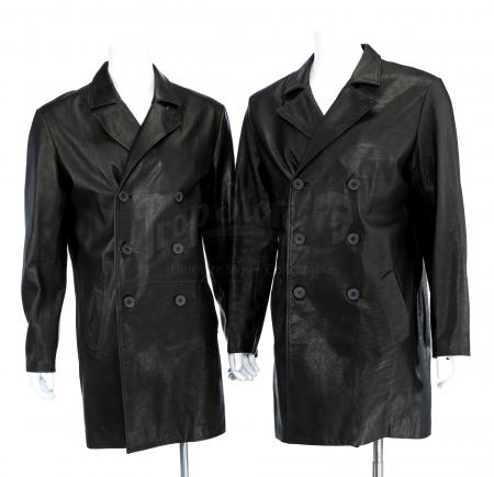 Lot # 119 - S2E06 Fallout: Two Black Jack Leather Jackets