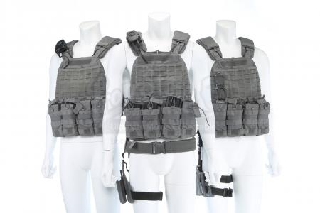 Lot # 120 - All Seasons : Three Gray Hat Tac Vests