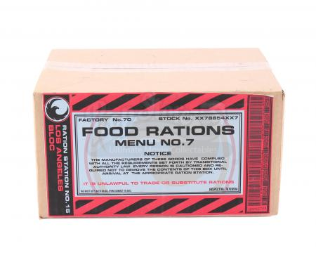 Lot # 127 - S2E10 The Garden of Beasts: Los Angeles Food Rations Box