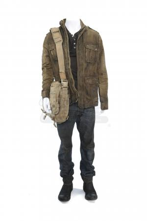 Lot # 137 - S2E03 Sublimation: Will Bowman's Distressed Santa Monica Bloc Rescue Costume