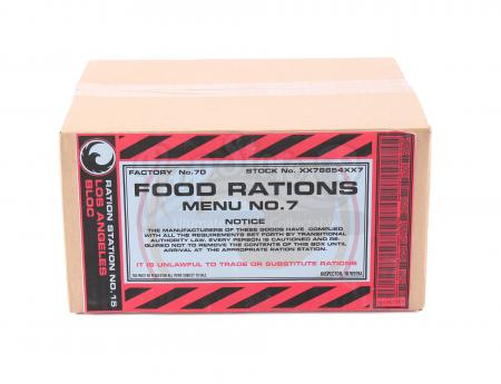 Lot # 148 - S2E10 The Garden of Beasts: Los Angeles Food Rations Box