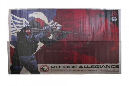 Lot # 159 - S2E03 Sublimation: Oversized Transitional Authority Pledge Allegiance Poster